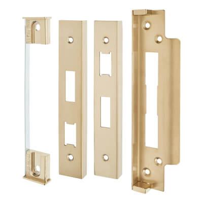 A-Spec Architectural Rebate Kit for Sashlock - PVD Brass
