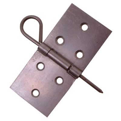 Theatrical Scenery Backflap Hinge - 40 x 86mm - Self Colour Steel