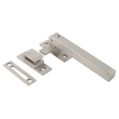 Altro Square Window Fastener - Satin Stainless Steel