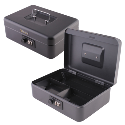 Sterling Cash Box with Combination Lock - 10