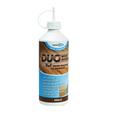 Bond It Duo PVA Wood Glue - 500ml)