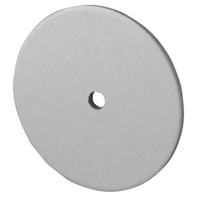 Designer End Cap for Headrail - Satin Anodised Aluminium - 17-19mm Panels