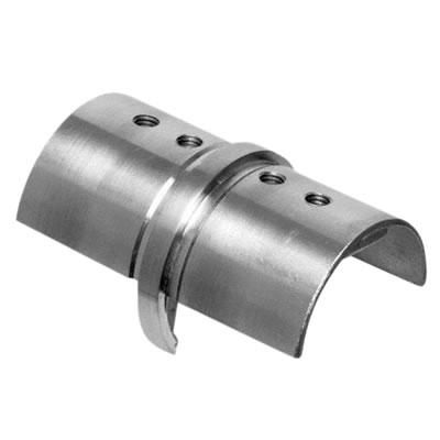 Posiglaze / Sabco Balustrade Handrail Inline Connector - Stainless Steel