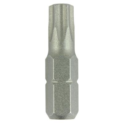Addax TIMco Steel Driver Bits - Torx - T25 - 25mm - Pack 10