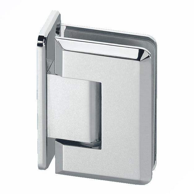 Wall Mount Shower Hinge - Single Sided - 10-12mm Glass)
