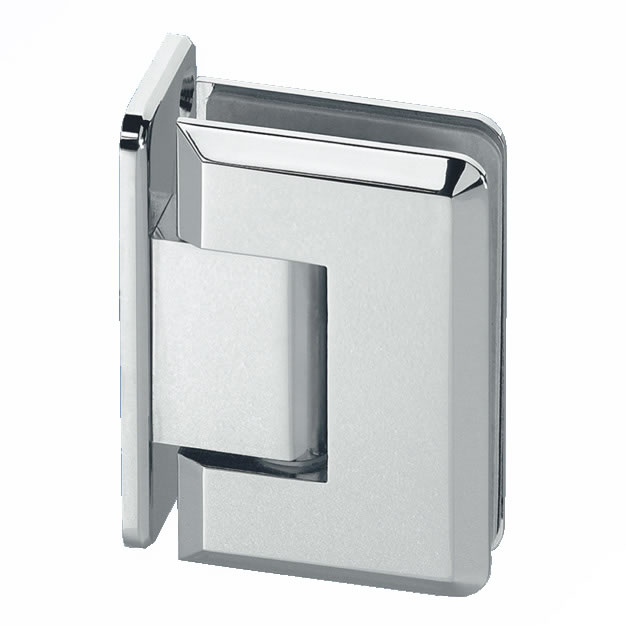 Wall Mount Shower Hinge - Single Sided - 10-12mm Glass)