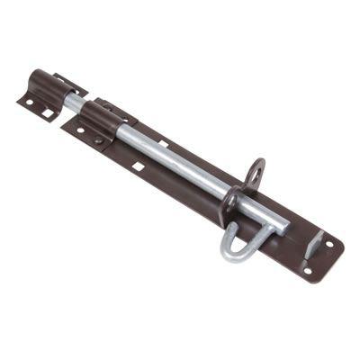 Padlock Bolt - 200mm - Brown