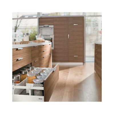 Blum Tandembox Antaro Pan Drawer - BLUMOTION (Soft Close) - (H) 206 x (D) 550 x (W) 450mm - White