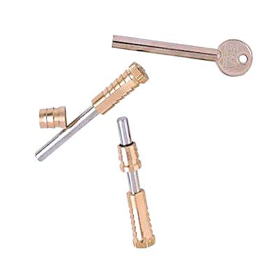 ERA® Vertical Sliding Sash Screw - Brass - Pack of 2