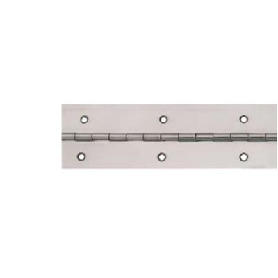 Piano Hinge - 1800 x 25.4 x 1mm - Polished Stainless Steel)