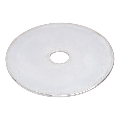 Penny Repair Washer - 50mm Diameter x 8mm Hole - Zinc Plated - Pack 25