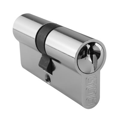 Cylinder to Suit Glass Door Corner and Centre Patch Locks - Keyed to Differ