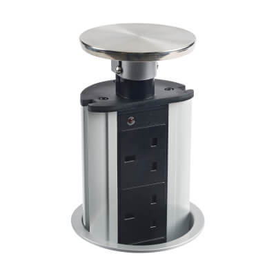 Leyton PowerPort - Max 3250W - Stainless Steel)