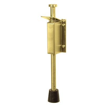Altro Foot Operated Door Holder - 200mm - PVD Brass