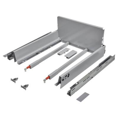 Blum TANDEMBOX ANTARO Pan Drawer - BLUMOTION Soft Close - (H) 203mm x (D) 450mm x (W) 450mm - Grey