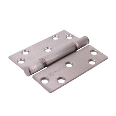 Royde &Tucker (H102) Hi-Load Triple Knuckle Butt Hinge - 100 x 88 x 3mm - Satin Stainless Steel)