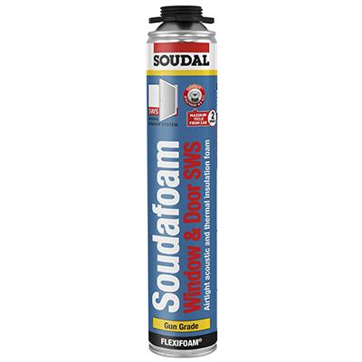 Soudal Soudafoam SWS Flexifoam - 750ml - Gun Grade)
