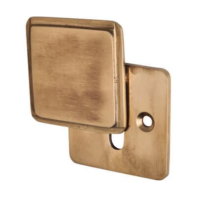 Louis Fraser Covered Escutcheon - Keyhole - Light Bronze