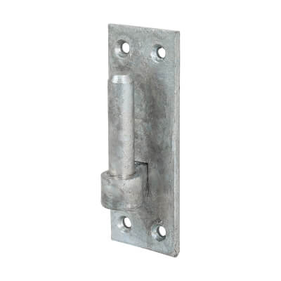Medium Duty Hook On Plate - 19mm Pin - Galvanised