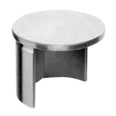 Posiglaze Balustrade Handrail End Cap - Stainless Steel
