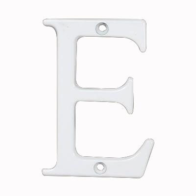 76mm Letter - E - White