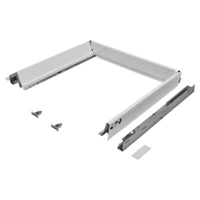 Blum TANDEMBOX ANTARO Drawer Pack - BLUMOTION Soft Close - (H) 84mm x (D) 500mm x (W) 800mm - White