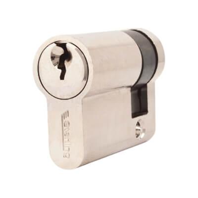 5 Pin Cylinder - Euro Single - 41mm - Nickel)
