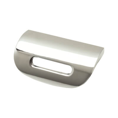 FingerTip Design Visor Cabinet Knob - 32mm - Satin Nickel