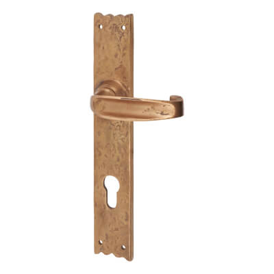 Louis Fraser Unsprung Multipoint Lock Lever - uPVC/Timber - 92mm Centres - Oil Rubbed Bronze