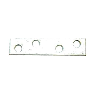 Flat Mending Plate - 150mm - Bright Zinc Plated - Pack 10