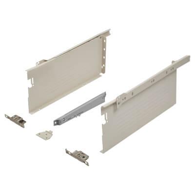 Blum METABOX BLUMOTION Soft Close Drawer Pack - Single Extension - 150mm (H) x 300mm (D) - 30kg