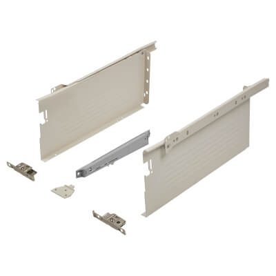 Blum METABOX BLUMOTION Soft Close Drawer Pack - Single Extension - 150mm (H) x 300mm (D) - 30kg