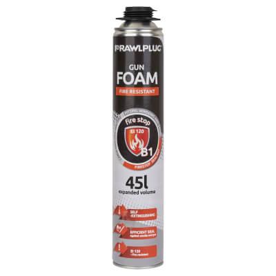 Rawlplug B1 Fire Resistant Foam - 750ml)
