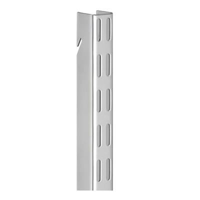 elfa Hanging Wall Bar - 1200mm - Platinum