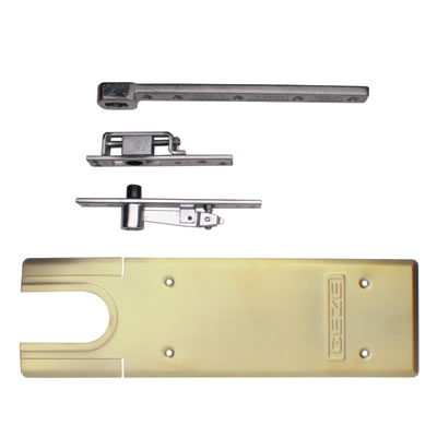 GEZE TS550NV Accessory Pack - Double Action - Polished Brass)