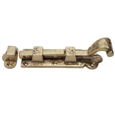 Straight Bolt - 152mm - Blacksmith Brass