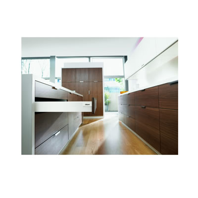Blum Tandembox Antaro Drawer Pack - Height 83mm x Depth 500mm x Width 450mm - Grey