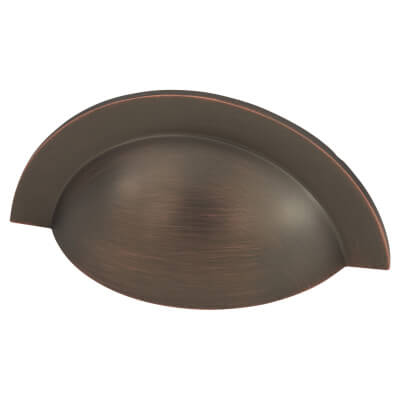 Crofts & Assinder Monmouth Cabinet Cup Handle - 64mm Centres - American Copper