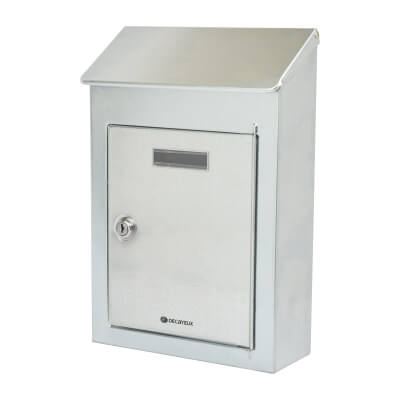 DAD Country 2 Mailbox - 325 x 220 x 100mm - Galvanised)