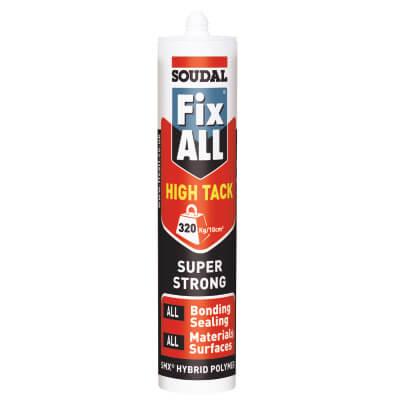 Soudal Fix All High Tack - 290ml - White)