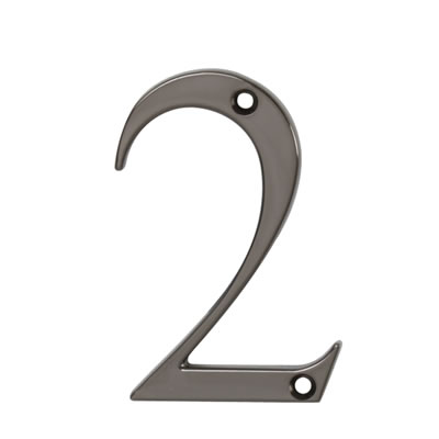 76mm Numeral - 2 - Bright Bronze