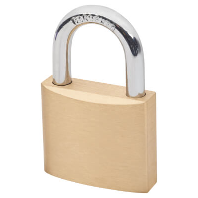 Solid Brass Padlock - 40mm - Keyed to Differ)