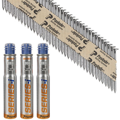 Paslode IM90I Nail - First Fix - 63 x 2.8mm - Bright - Pack 3300
