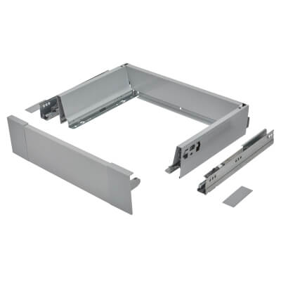 Blum TANDEMBOX ANTARO Internal Drawer - BLUMOTION - (H) 84mm x (D) 270mm x (W) 400mm - Grey