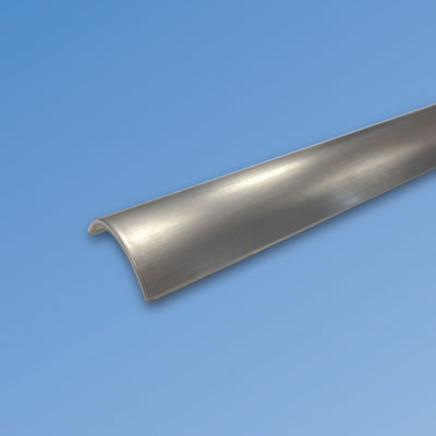 Shower Threshold Seal - 1000mm - Polished Stainless Steel