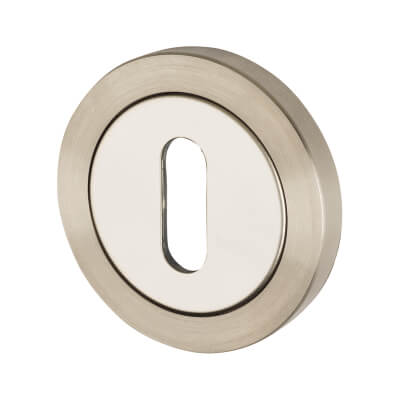 Steelworx Stainless Steel - Escutcheon - Keyhole - Polished/ Satin Stainless