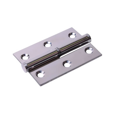 Lift-Off Hinge - 75 x 53 x 2mm - Right Hand - Polished Stainless Steel