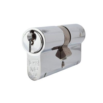 Eurospec MP10 - Euro Double Cylinder - 32 + 32mm - Polished Chrome  - Keyed Alike