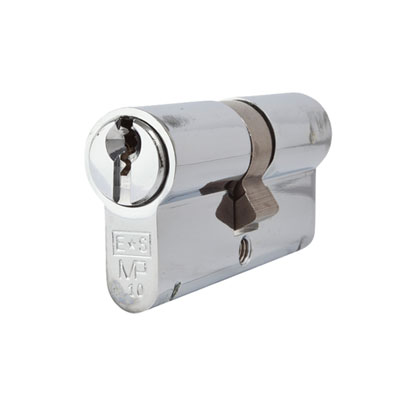 Eurospec MP10 - Euro Double Cylinder - 32 + 32mm - Polished Chrome  - Keyed to Differ