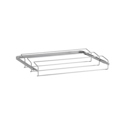 elfa® Gliding Shoe Rack - 605mm - Platinum)